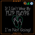 Flip Flops wholesale custom Summer heat transfers