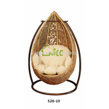 comfortable rattan hanging egg chair +swing with cushion for rattan chair