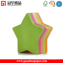 SGS Star Shaped Notepads Good Quality Sticky Notes
