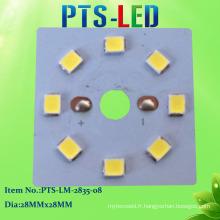 Module de LED 8W DC PCB SMD2835 avec PF élevé