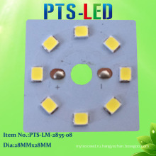 8W DC ПХД SMD2835 светодиодный модуль с высокой PF