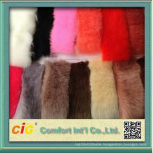 High Quality Plain Printed 100% Acrylic Faux Fur Fabric for Sale