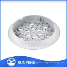 Haute qualité Die casting aluminium led couvercle de la lampe