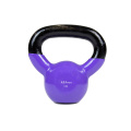 3KG Purple Vinyl Coated Kettlebell