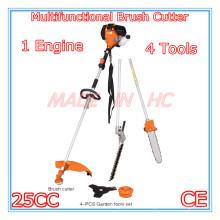 4 in 1 Multifunktions-Freischneider mit 25CC Benzinmotor (MP260)