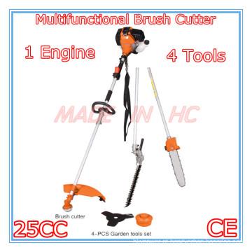 Cortador de escova multifuncional 4 em 1 com motor a gasolina 25CC (MP260)