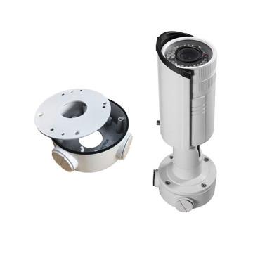 Caixa de junção para suporte de câmeras CCTV Acessórios úteis Proteger cabos e conectores