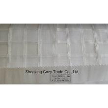 Nouveau rayon de projet populaire Cross Organza Voile Sheer Curtain Fabric 0082120