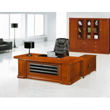 modern design combination executive office table design with modesty panel
