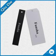 Factory OEM Low MOQ Simple Style Design Paper Hang Tag pour chemises