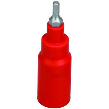 Clé hexagonale à douille d'injection VDE