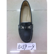 Falt & Comfort Lady Zapatos con suela TPR (SNL-10-040)