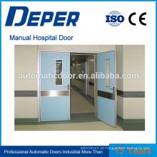 porta automática do hospital porta automática automática porta automática mecanismo de fechamento perfis de alumínio porta automática