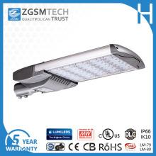 165W lumière rue LED avec Ce UL Certification IP66 Ik10