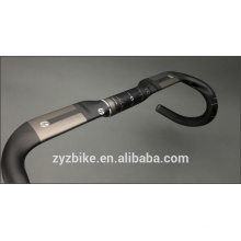 Highway Bike Handle Bars Carbon Handlebar Road /Black Matte 400/420/440