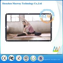 46 pouces 16:09 grand écran LCD totem publicitaire