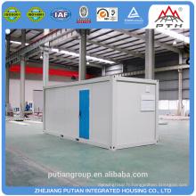 PTJ-8x20G structure en acier 20FT container house