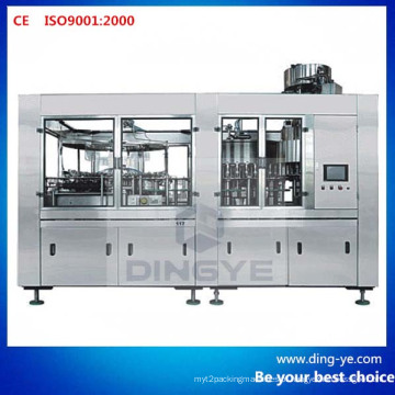 Máquina de enchimento de garrafas Monoblock 3 em 1
