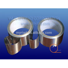 Fita de alumínio para o sistema de condicionamento de ar, Refletivo e Silver Roofing Material Alumínio Folha Laminação