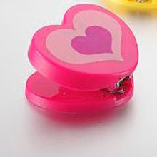 Red Heart Shaped Mini Stapler