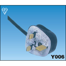 Cables de alimentación de BSI de Reino Unido