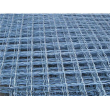 Clôture verte de cour de basket-ball de lien de chaîne de revêtement de PVC, barrière de cour de sports de grillage de trou de diamant