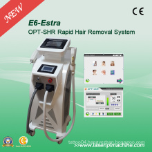 Vertical IPL Elight& ND YAG Laser Tattoo Removal Machine