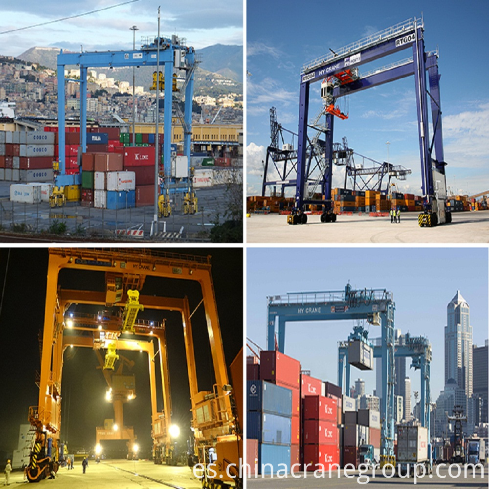 Container Crane Port Type Rail Mounted CRANE-LT