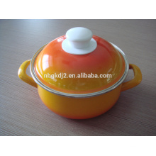 light color enamel pot for cooking