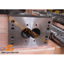 Schneckenelemente Bimetall Schrauben und segmentierte Barrel