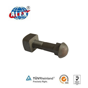 Round Head Bhdn Track Bolt with Nut and Washer