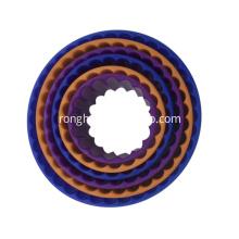 Plastic Round Cookie Cutter Set