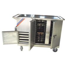 THR-FC001 Edelstahl Elektrisch beheizter Lebensmittelwagen