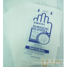 Medical Paper-Paper Packaging Pouch for Glove