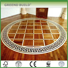 Patrons de plancher de médaillon de mosaïque de bureau