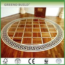 Padrões de piso de medalhão de mosaico de escritório