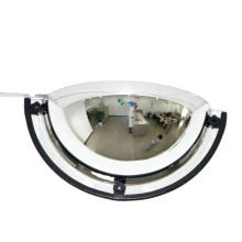 Hot Selling Full View 180 Degree Dome Mirror, Low Price High Quality Acrylic Indoor Half Dome Convex Mirror/