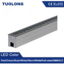 Iluminación de tierra al aire libre linear de la prenda impermeable de la luz de tierra del alto brillo LED 24W