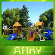 High Quality Wooden Amusement Play Equipment