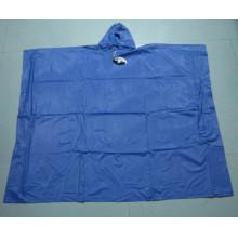 Custom PVC Waterproof Square Rain Poncho for Adult