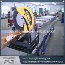 Proveedor en Alibaba máquina de canal de aluminio máquina de formación de canalones