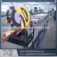Supplier on alibaba aluminum gutter machine gutter forming machine