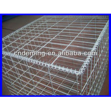 Cestas de gabião soldadas galvanizadas (fábrica grande & exportador)
