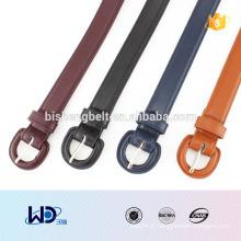 2016 lady fashional D rings fausse ceinture en cuir