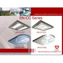 Techo del elevador con el panel superior de acrílico (SN-CC-517)