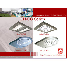 Elevator Ceiling with Acrylic Top Panel (SN-CC-517)