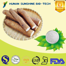 Emballage de tonneau et partie de racine utilisée Farine d'igname prévenant les maladies cardiovasculaires