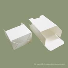 Embalagem de caixa de cartão branco para impressão personalizada