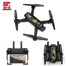 Professional foldable drone SJY-DM107S Auto return height set quadcopter wifi selfie drone with 2MP HD camera follow me
