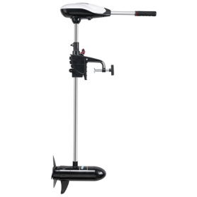 saltwater transom mount trolling motor(finite variable speed